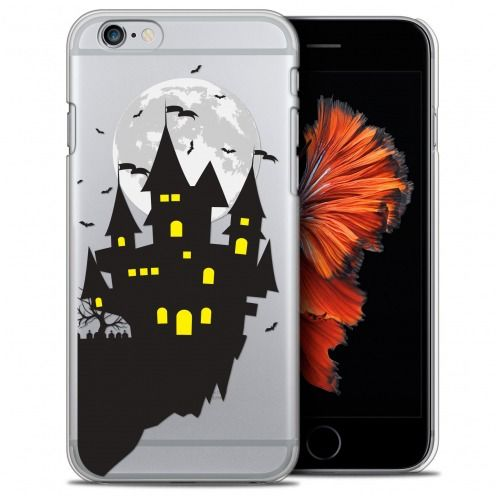 Extra Slim Crystal iPhone 6/6s (4.7) Case Halloween Castle Dream