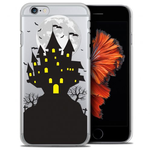 Extra Slim Crystal iPhone 6/6s Plus (5.5) Case Halloween Castle Scream