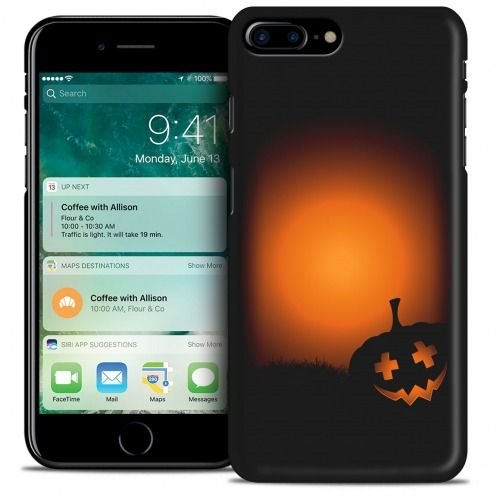 Hallowen Extra Slim Opaque case for iPhone 7/8 Plus (5.5) Coucher de Citrouille