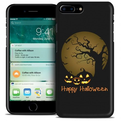 Hallowen Extra Slim Opaque case for iPhone 7/8 Plus (5.5) Happy