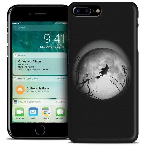 Hallowen Extra Slim Opaque case for iPhone 7 Plus (5.5) Flying Sorciere