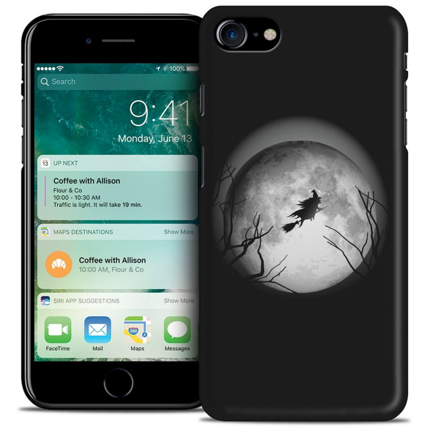 Hallowen Extra Slim Opaque case for iPhone 7 (4.7) Flying Sorciere