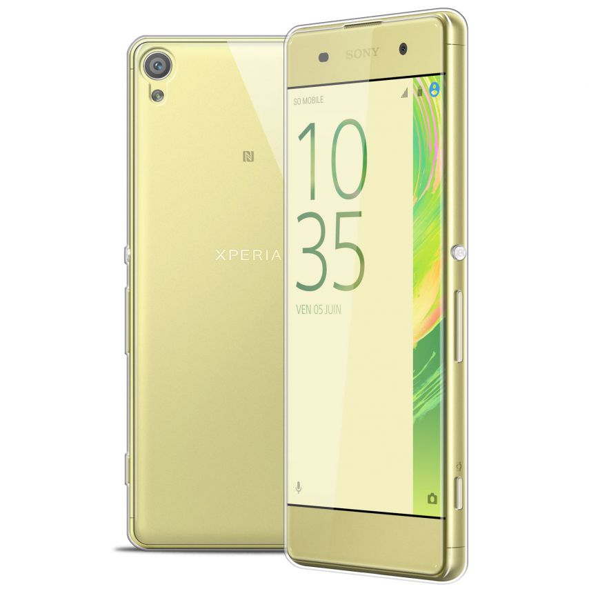 Extra Slim 1mm Crystal Clear View Flexible Case Sony Xperia XA