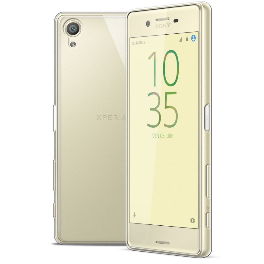 Extra Slim 1mm Crystal Clear View Flexible Case Sony Xperia X