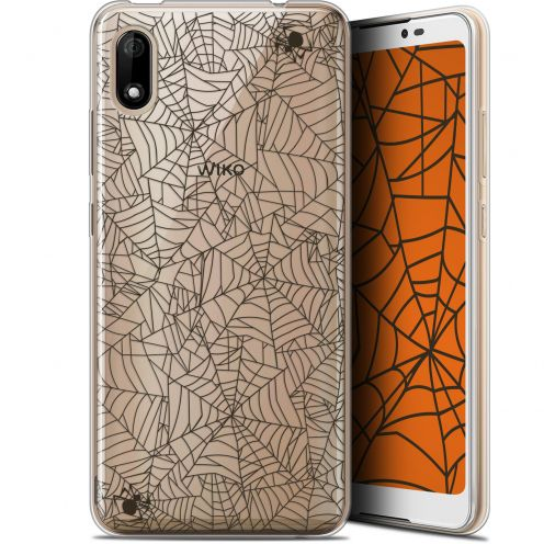 "Extra Slim Gel Wiko Y70 (5.99"") Case Halloween Spooky Spider"