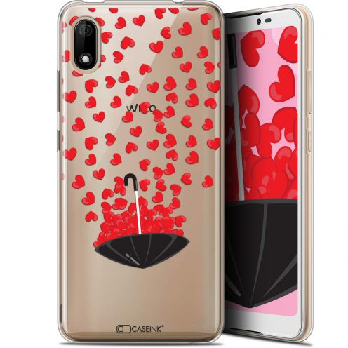 "Extra Slim Gel Wiko Y70 (5.99"") Case Love Parapluie d'Amour"