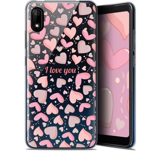 "Extra Slim Gel Wiko Y70 (5.99"") Case Love I Love You"