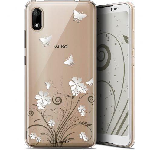 "Extra Slim Gel Wiko Y70 (5.99"") Case Summer Papillons"