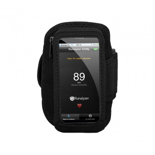 Runalyzer ® Armband for iPhone 5 / iPod touch 5g S