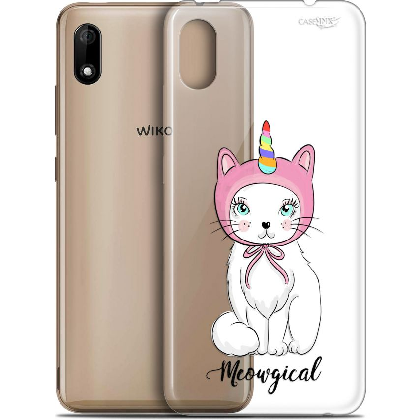 "Extra Slim Gel Wiko Y70 (5.99"") Case Design Ce Chat Est MEOUgical"