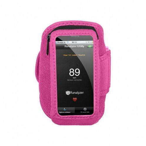 Runalyzer ® Armband for iPhone 5 / iPod touch 5g pink S