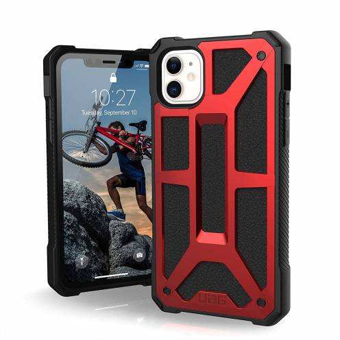 Urban Armor Gear® iPhone 11 Shockproof Case - UAG Monarch Rouge