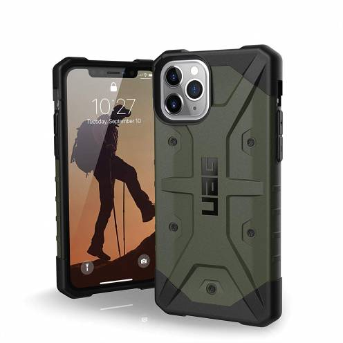 Urban Armor Gear® iPhone 11 Pro Shockproof Case - UAG Pathfinder Olive
