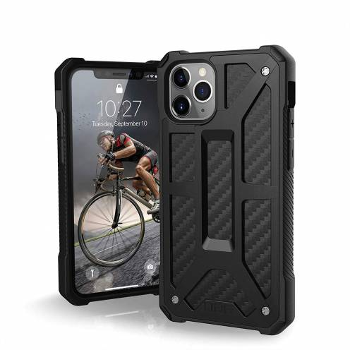 Urban Armor Gear® iPhone 11 Pro Shockproof Case - UAG Monarch Carbon