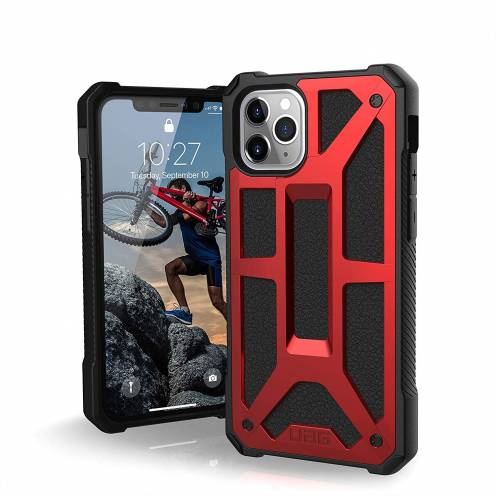 Urban Armor Gear® iPhone 11 Pro Shockproof Case - UAG Monarch Rouge