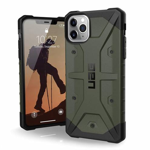 Urban Armor Gear® iPhone 11 Pro Max Shockproof Case - UAG Pathfinder Olive