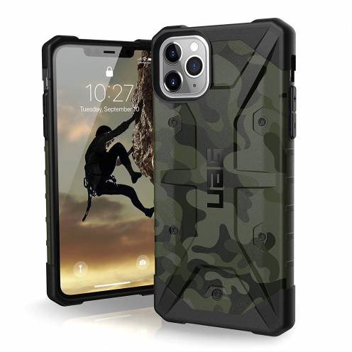 Urban Armor Gear® iPhone 11 Pro Max Shockproof Case - UAG Pathfinder Forest Camo