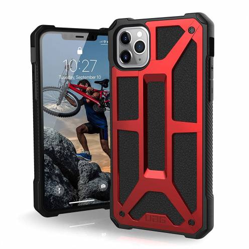 Urban Armor Gear® iPhone 11 Pro Max Shockproof Case - UAG Monarch Rouge
