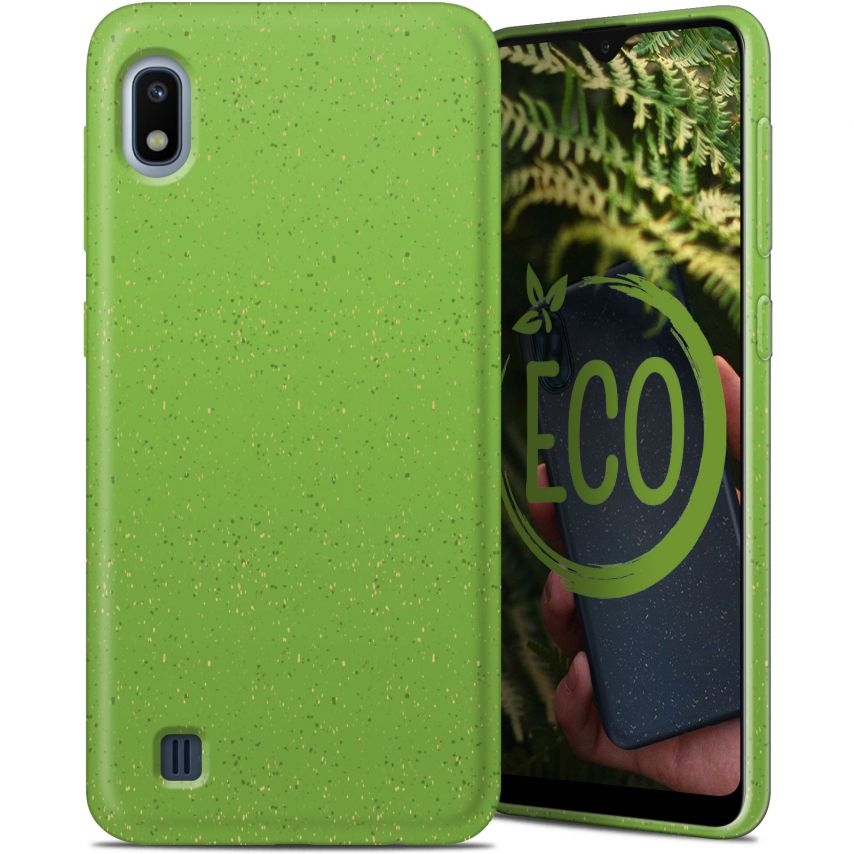 Biodegradable ZERO Waste case for Samsung Galaxy A10 green
