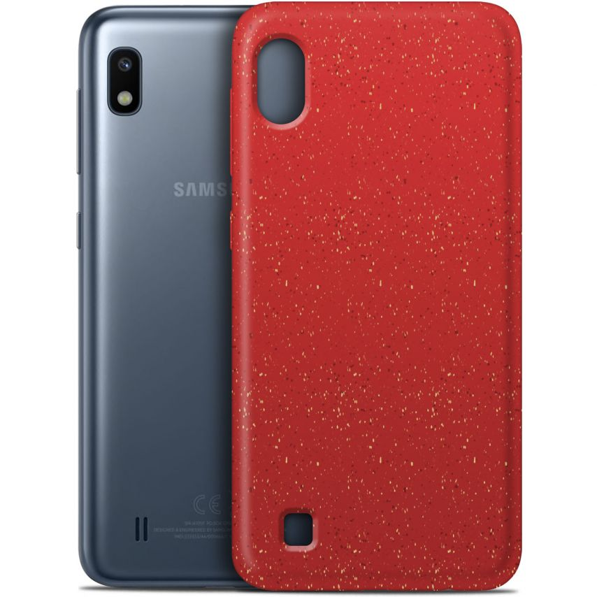 Biodegradable ZERO Waste case for Samsung Galaxy A10 red