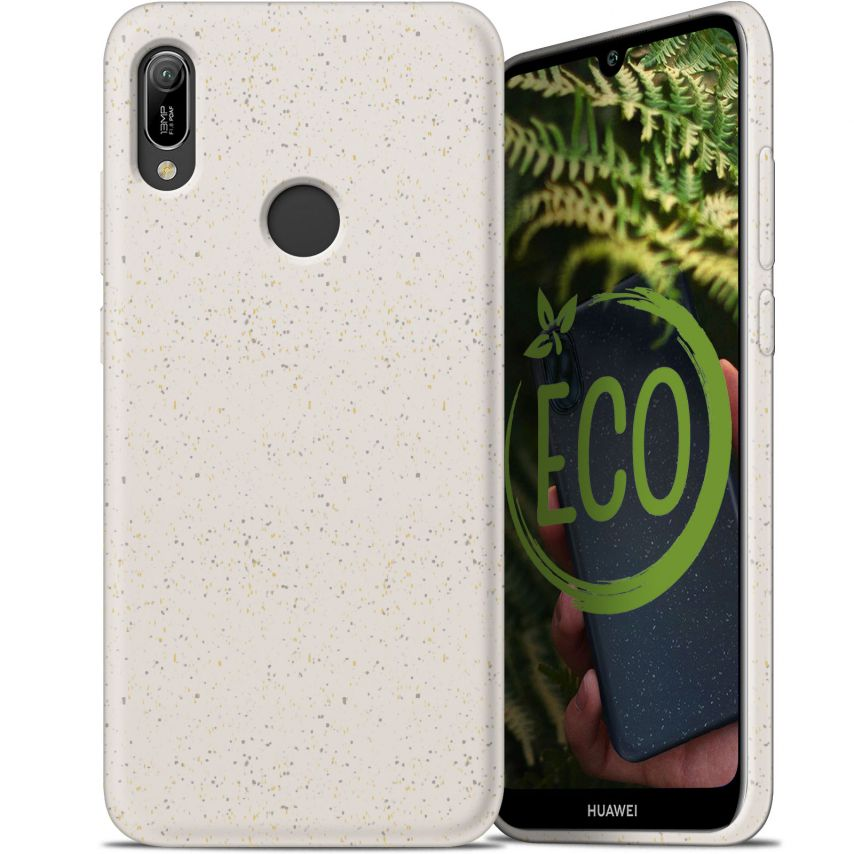 Biodegradable ZERO Waste case for Huawei Y6 2019 nature