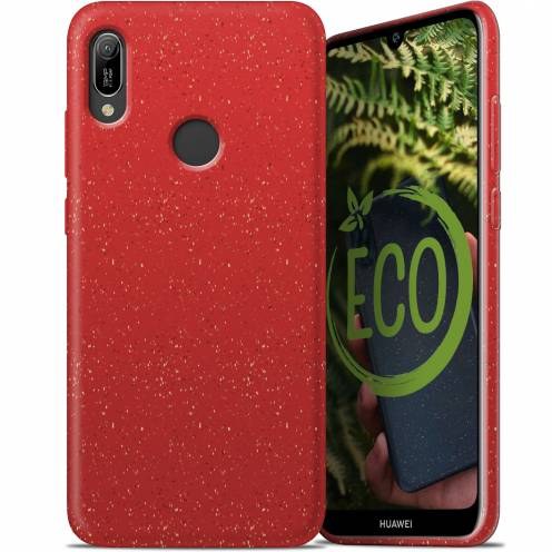 Biodegradable ZERO Waste case for Huawei Y6 2019 red