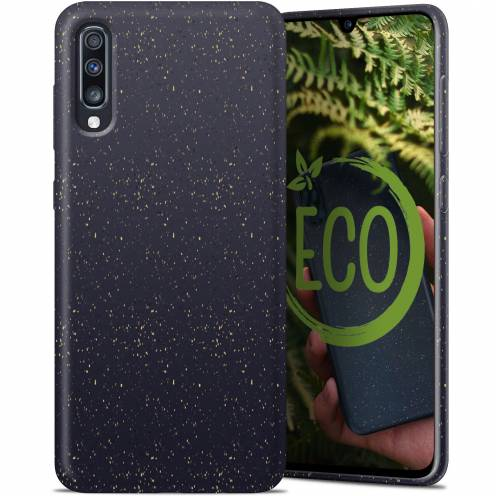Biodegradable ZERO Waste case for Samsung Galaxy A70 black