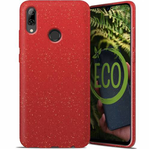 Biodegradable ZERO Waste case for Huawei P Smart 2019 red
