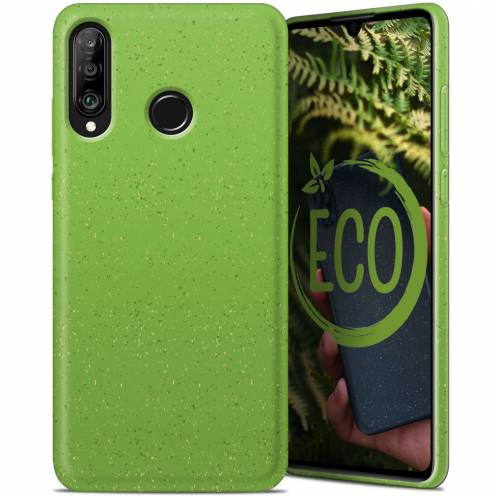 Biodegradable ZERO Waste case for Huawei P30 Lite green