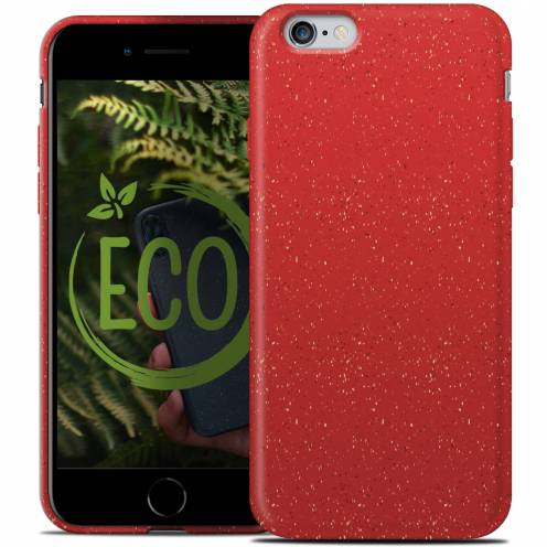 Biodegradable ZERO Waste case for iPhone 6 / 6S red