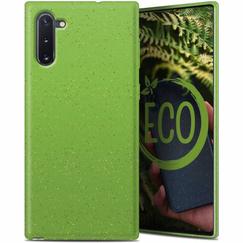 Biodegradable ZERO Waste case for Samsung Galaxy Note 10 green