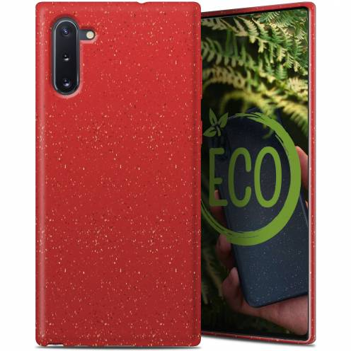 Biodegradable ZERO Waste case for Samsung Galaxy Note 10 red