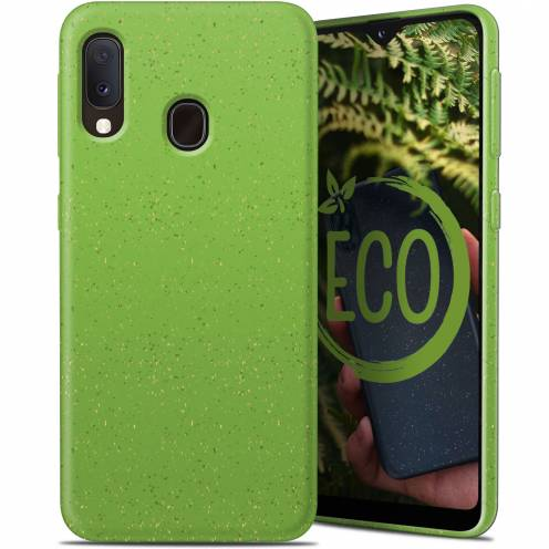 Biodegradable ZERO Waste case for Samsung Galaxy A40 green