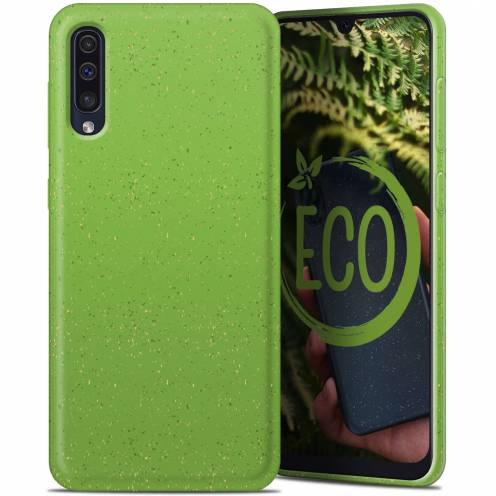 Biodegradable ZERO Waste case for Samsung Galaxy A30S / A50 / A50S green