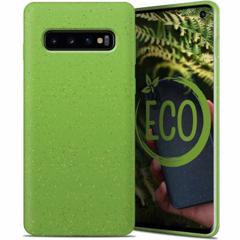 Biodegradable ZERO Waste case for Samsung Galaxy S10 green