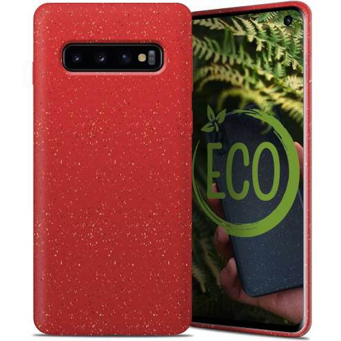 Biodegradable ZERO Waste case for Samsung Galaxy S10 red