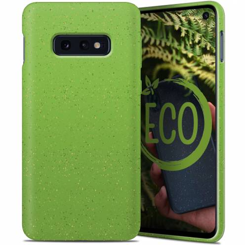 Biodegradable ZERO Waste case for Samsung Galaxy S10e green