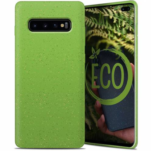 Biodegradable ZERO Waste case for Samsung Galaxy S10 Plus green