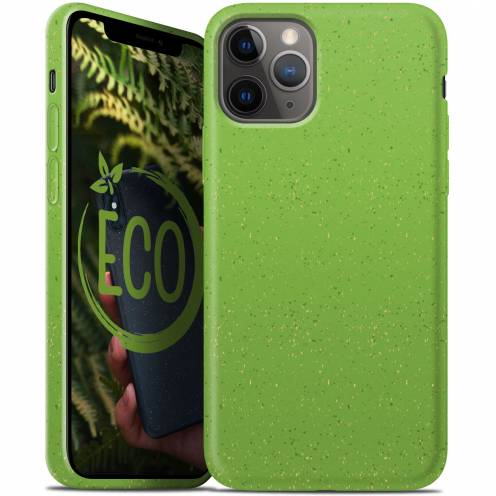Biodegradable ZERO Waste case for iPhone 11 PRO Max green