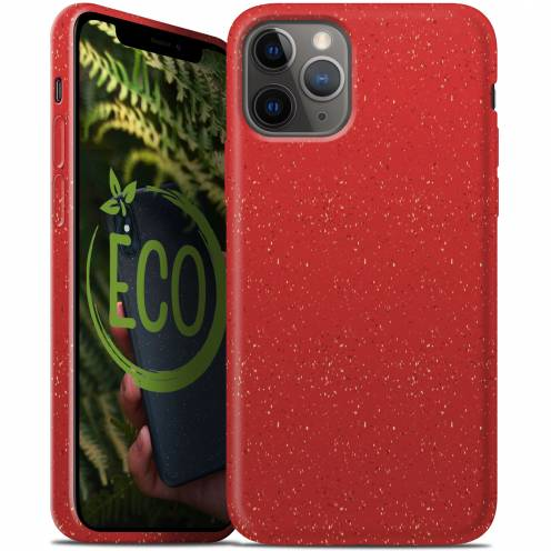 Biodegradable ZERO Waste case for iPhone 11 PRO Max red