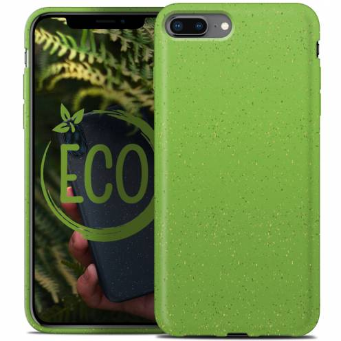 Biodegradable ZERO Waste case for iPhone 7 Plus / 8 Plus green
