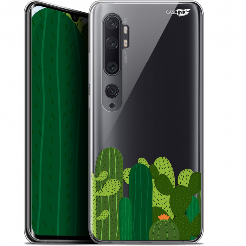 "Extra Slim Gel Xiaomi Mi Note 10 / Pro (6.47"") Case Design Cactus"