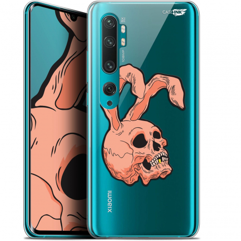 "Extra Slim Gel Xiaomi Mi Note 10 / Pro (6.47"") Case Design Rabbit Skull"