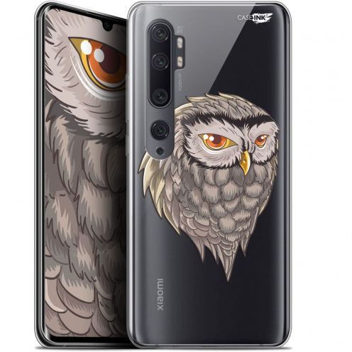 "Extra Slim Gel Xiaomi Mi Note 10 / Pro (6.47"") Case Design Hibou Draw"