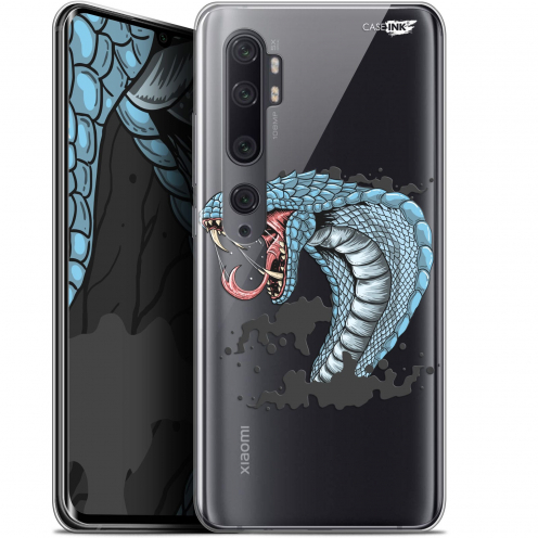 "Extra Slim Gel Xiaomi Mi Note 10 / Pro (6.47"") Case Design Cobra Draw"