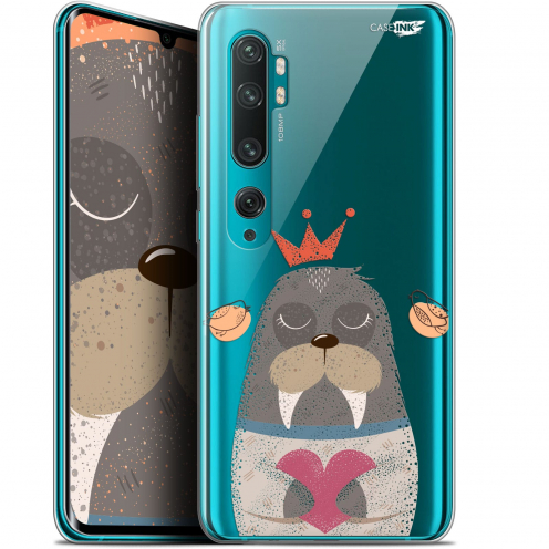 "Extra Slim Gel Xiaomi Mi Note 10 / Pro (6.47"") Case Design Sketchy Walrus"