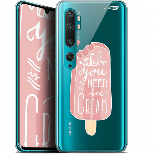 "Extra Slim Gel Xiaomi Mi Note 10 / Pro (6.47"") Case Design Ice Cream"