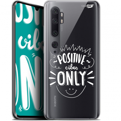 "Extra Slim Gel Xiaomi Mi Note 10 / Pro (6.47"") Case Design Positive Vibes Only"