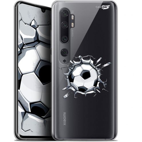 "Extra Slim Gel Xiaomi Mi Note 10 / Pro (6.47"") Case Design Le Balon de Foot"