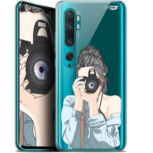"Extra Slim Gel Xiaomi Mi Note 10 / Pro (6.47"") Case Design La Photographe"